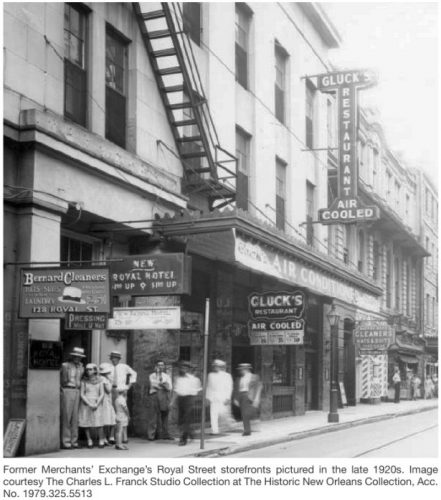 Photo courtesy of the Historic New Orleans Collection