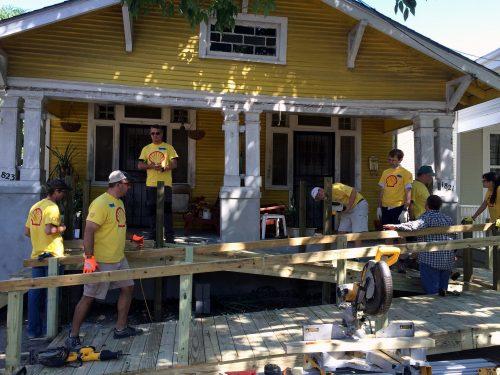 Shell Volunteering at October Build 2015