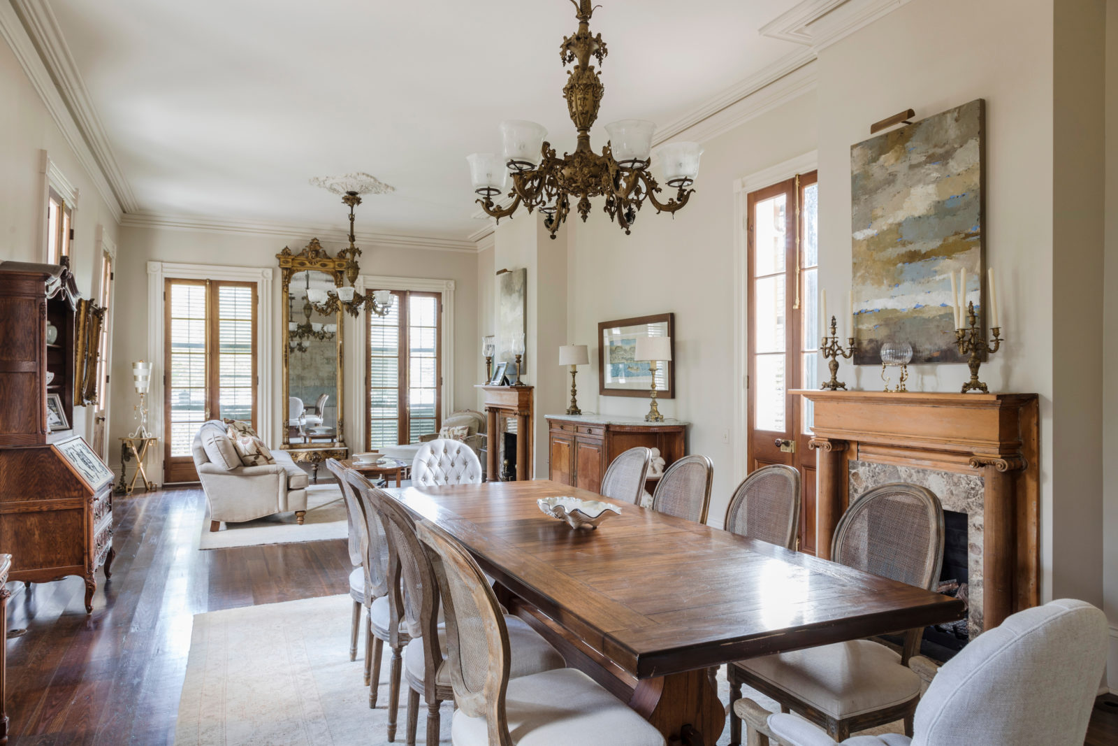 Antebellum House With A Storied History Restored In New Orleans Garden District Preservation Resource Center Of New Orleans