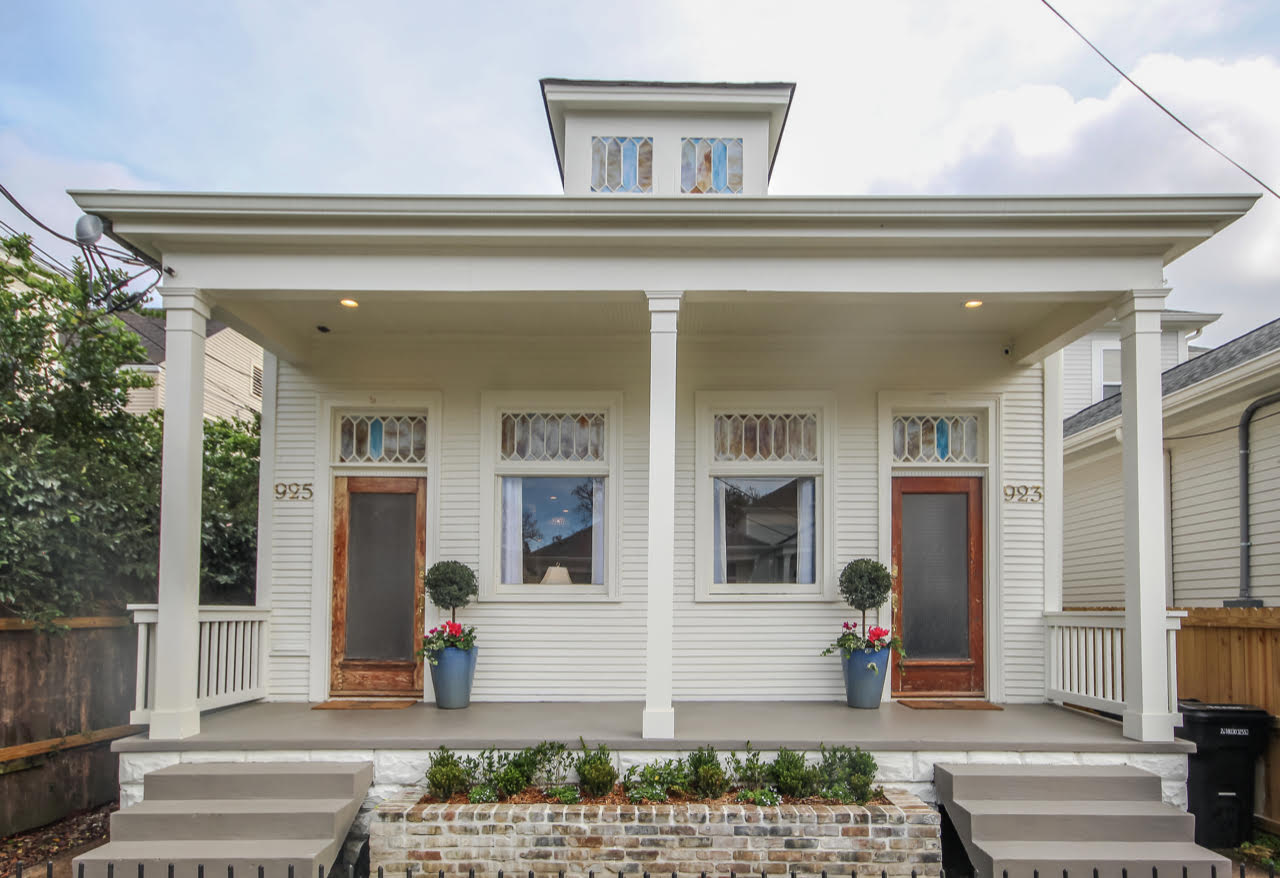 Renovated Double Shotgun Becomes Spacious Family Home With Historic Character Preservation Resource Center Of New Orleans
